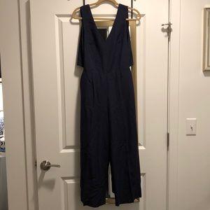 Club monaco jumpsuit navy